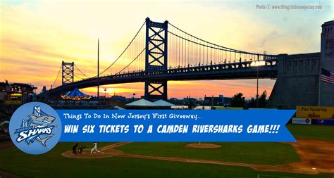 Sharks Giveaway Schedule - win six tickets to a 2015 camden riversharks baseball game things to do in new jersey