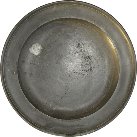 pewter charger 18th century large pewter charger by henry joseph from