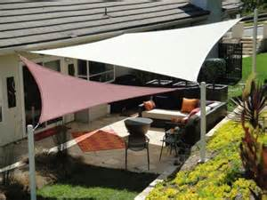 sail shaped awnings patio shade sails covers dennis s garden
