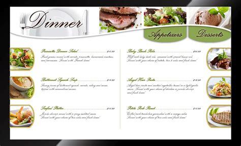 Design Digital Menu Board   qa graphics expands digital menu board design services