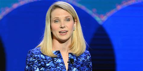 Blue Marissa marissa mayer s dress matches the yahoo logo and it s actually pretty awesome huffpost