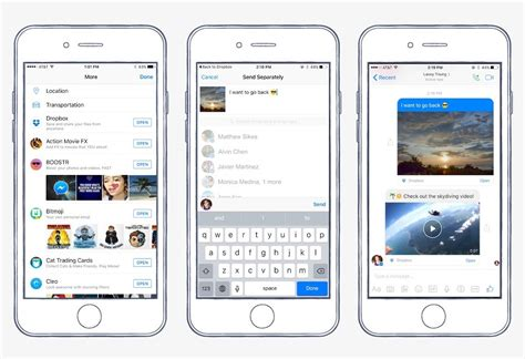 messenger for chat for mobile adds dropbox support and chat heads to