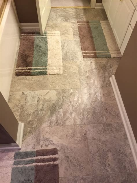 armstrong grout st louis flooring armstrong alterna reserve luxury vinyl tiles with matching acrylic grout install traditional