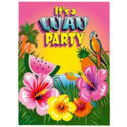 luau invitations luau supplies tropical supplies hawaiian supplies
