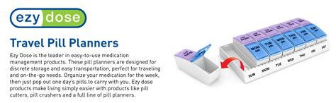 Pillpaks Make Pill Popping Easy by Ezy Dose Weekly Am Pm Pop Out Pill Planner Large