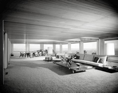 Modern Ideas For Living Rooms shorpy historic picture archive hilltop house 1960