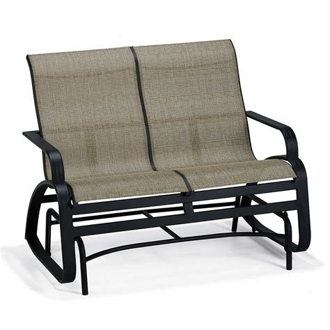 loveseat glider outdoor furniture outdoor glider chairs wicker glider loveseat