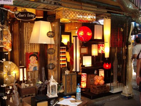 bangkok home decor shopping decorative ls at chatuchak weekend market source