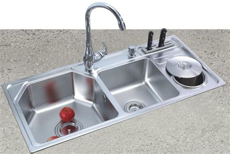 Oversized Stainless Steel Kitchen Sinks Tips In Selecting The Large Kitchen Sinks The Homy Design