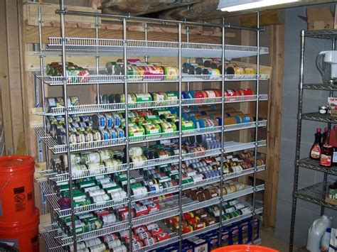 Wire Pantry Shelving Solutions The Frame Is All 1 2 Quot Emt Conduit And The Connectors Are