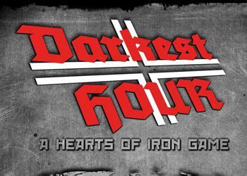 darkest hour cheats коды к игре darkest hour a hearts of iron game чит коды