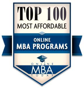 Cheapest Mba Programs Rankings by Top 100 Most Affordable Mba Programs 2018