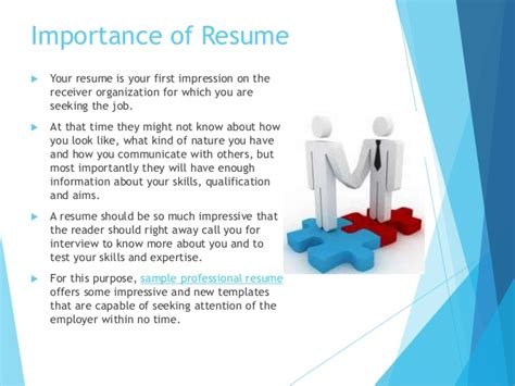 Importance Of Work Experience Before Mba by The Importance Of A Resume Resume Ideas