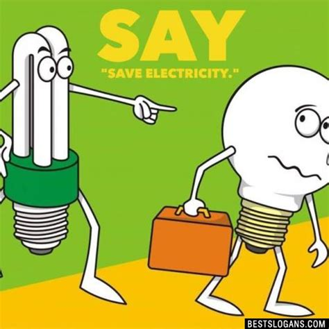 how to save electricity and catchy save electricity slogans taglines mottos