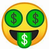 Dollar Sign Number 5 Emoji Pop | 512 x 512 png 56kB