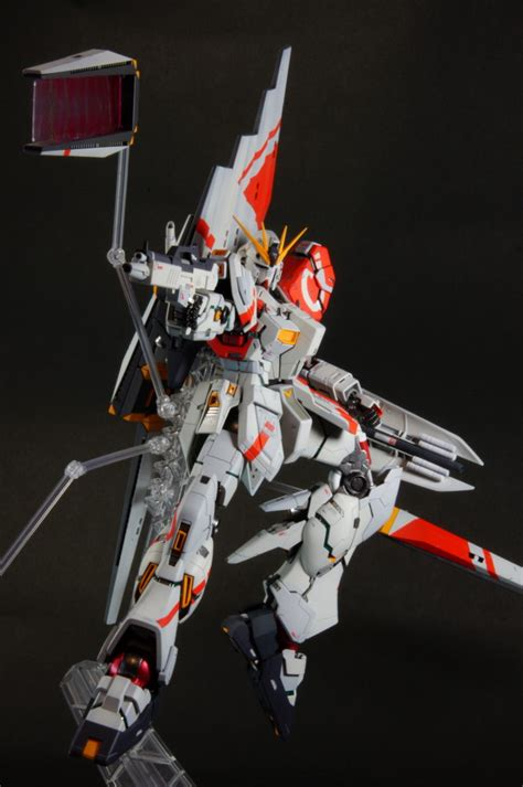 T Shirt Gundam Nu Ver Ka gundam mg 1 100 nu gundam ver ka kowloon custom painted build