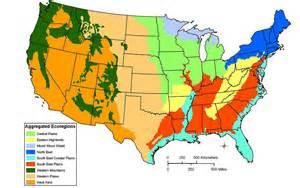 ecoregions of the united states