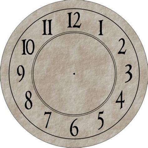 printable 6 inch clock face 25 best ideas about clock face printable on pinterest