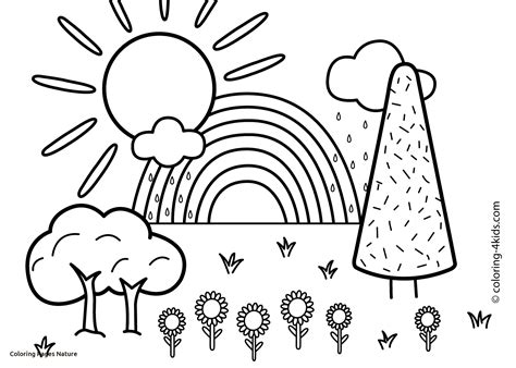 208 best free coloring pages for kids images on pinterest nature coloring pages free printable best of nature