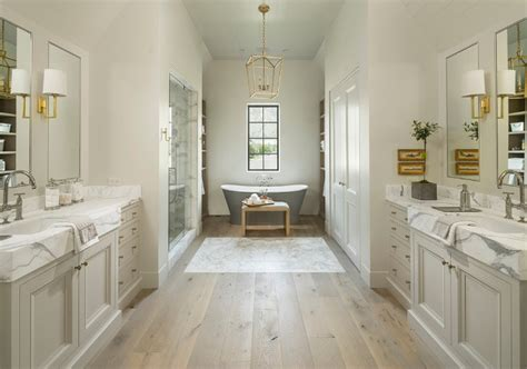 Hardwood Floor In Bathroom Family Home With Timeless Interiors Home Bunch Interior