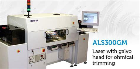 thin resistor laser trimming laser resistor trimming system hybrid circuits