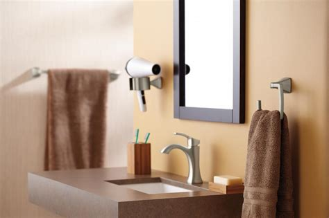 bathroom towel ring placement moen yb5186ch voss bathroom towel ring chrome amazon com