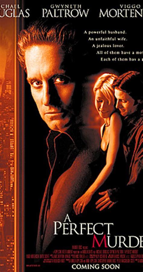 film thriller terbaik versi imdb a perfect murder 1998 imdb