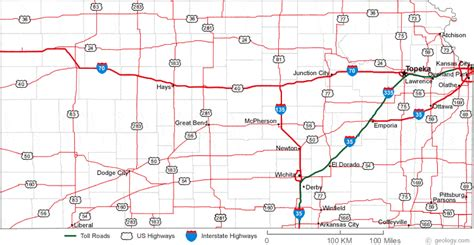 kansas road map kansas map bwzesa 001