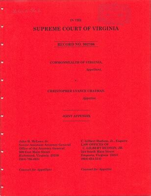 Commonwealth Of Virginia Court Search Virginia Supreme Court Records Volume 260 Virginia Supreme Court Records