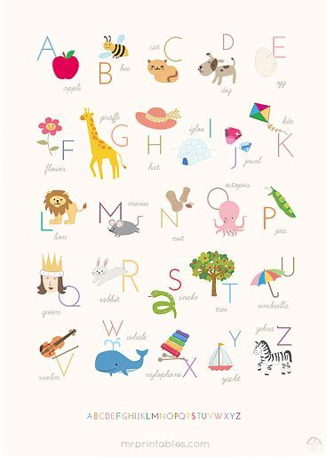 printable alphabet chart no pictures 15 free nursery printables printable alphabet alphabet