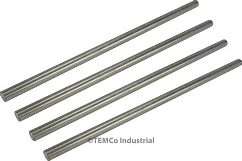 Stainless Steel 304 1 14 Inch 4x 3 8 quot inch dia 10 quot 304 stainless steel bar lathe ss rod stock 375 quot ebay