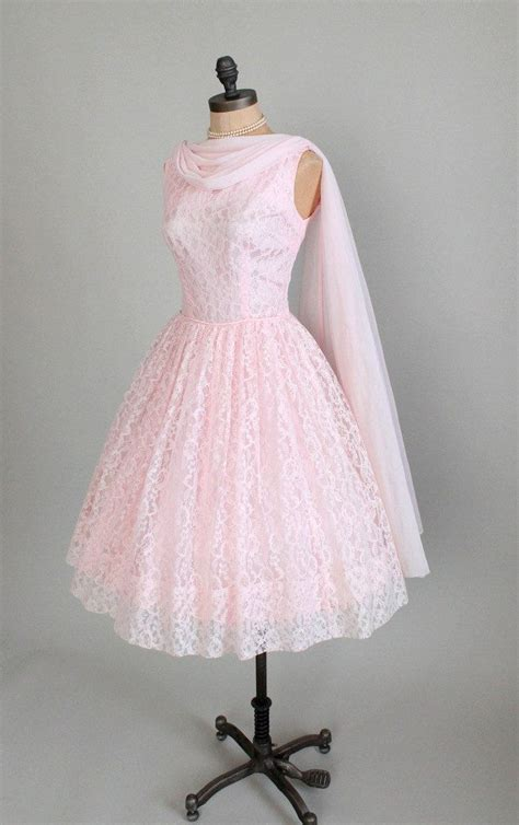 vintage 50s prom dresses prom vintage 1950s dress 50s pink lace prom wedding dress