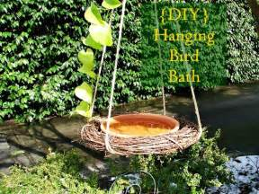 diy bird bath projects for summer garden decor
