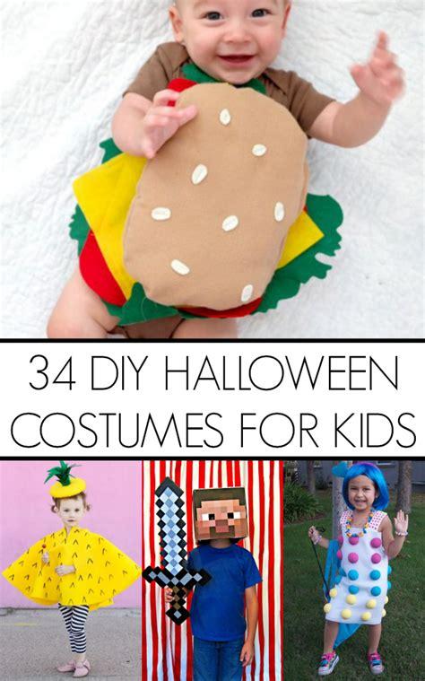 diy kid halloween costume ideas craft
