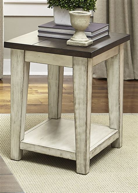 lancaster table and chairs lancaster antique white and brown chair side table from