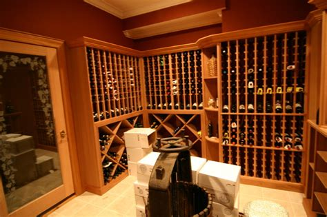 mahogany wine cabinet kessick wine cellarskitchen design custom mahogany wine cellar traditional wine cellar