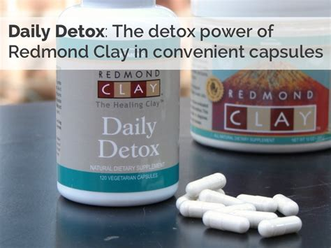 Redmond Clay Detox by Redmond Clay Uses Coupon And Giveaway