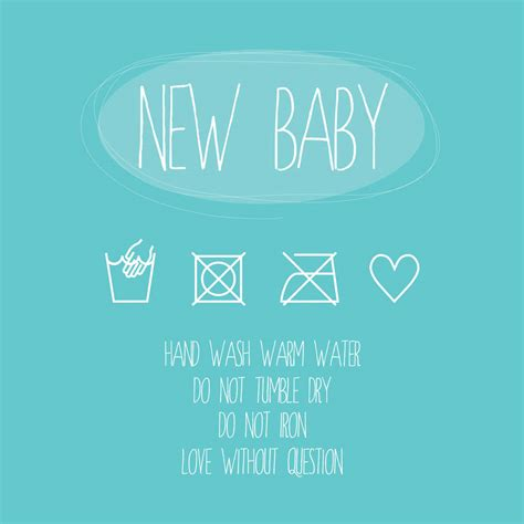 card greetings new baby blue washing greeting card by a