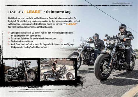 Motorrad Finanzierung Harley by Finanzierung Harley Davidson Finance Motorr 228 Der