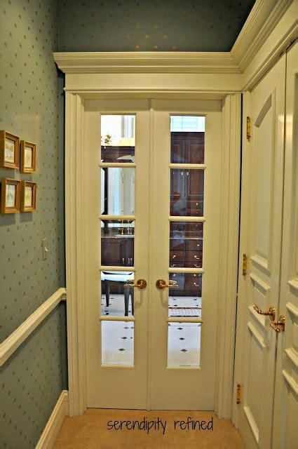 narrow closet doors serendipity refined master bathroom reveal