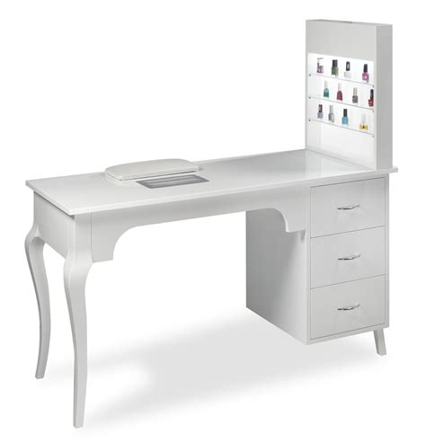 manicure table with vacuum cleaner estetica vezzosi