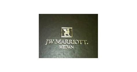 lowongan kerja smads jw marriott medan april