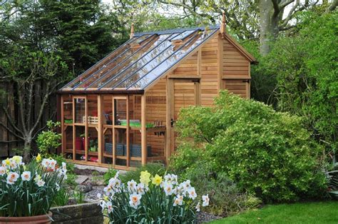 centaur shed combo greenhouse