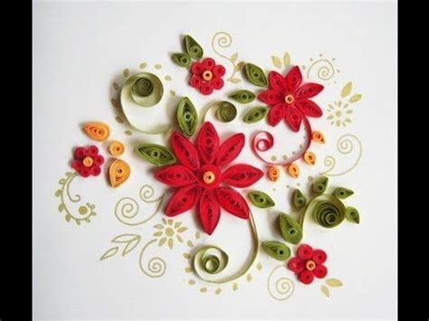 quilling tutorial on youtube paper quilling flowers making tamil tutorial for beginners