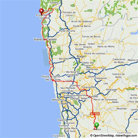 distance from porto to lisbon stage 8 arouca to galicia pedal portugal