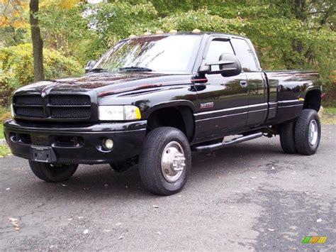 2001 dodge ram 3500 specs black 2001 dodge ram 3500 slt cab 4x4 dually exterior