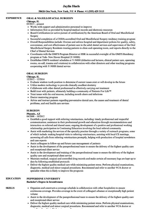 Resume For A Plastic Surgeon by Surgeon Resume Resume Ideas