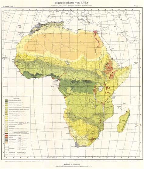 africa map vegetation vegetation map of africa 1963