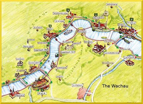 wachau valley map search austria