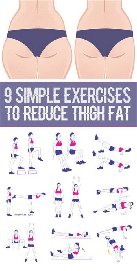 9 simple exercises to reduce thigh weight loss tips